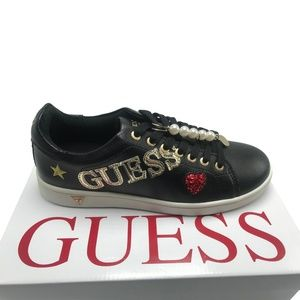 GUESS Women's SUPER Embellished Low-Top Sneakers